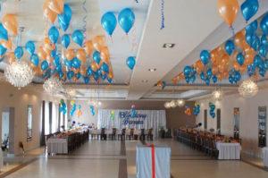 Dekoracje balonowe na chrzcie