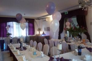 Dekoracje balonowe na urodzinach