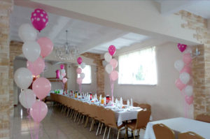 Dekoracje balonowe na weselu
