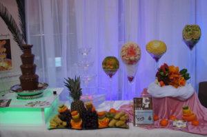 fontanna czekoladowa i alkoholowa