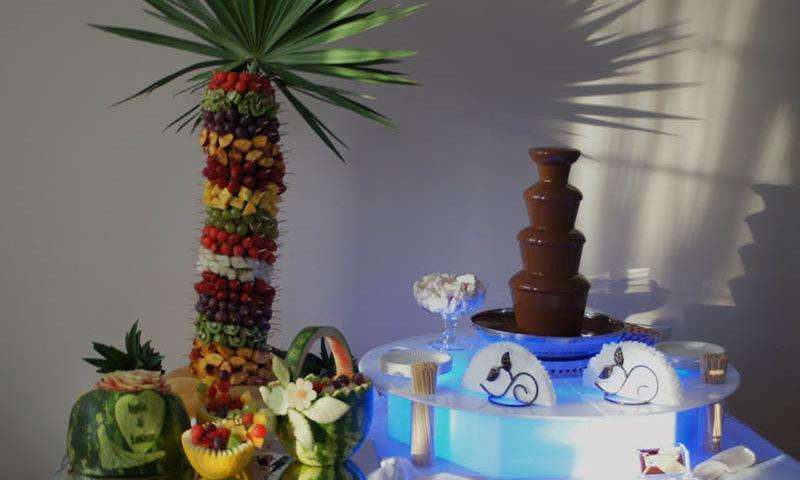Palma owocowa na wesele
