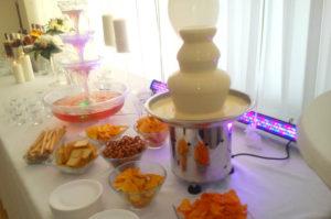 fontanna serowa na urodzinach