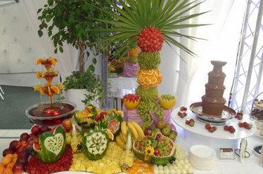 Stoły owocowe