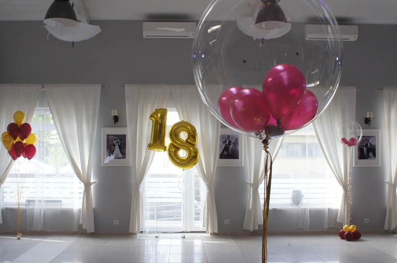 Dekoracje balonowe