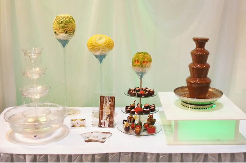 Słodki stół na impreze firmową