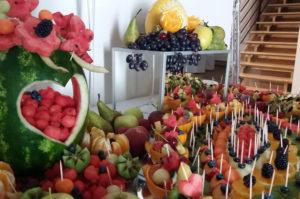 Owoce na chrzcinach