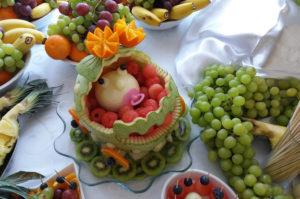 Carving arbuz na urodziny dziecka