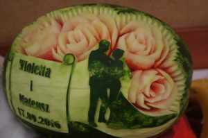 Fruit Carving na wesele