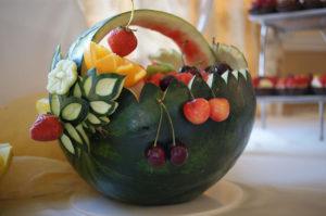Dekoracja z arbuza