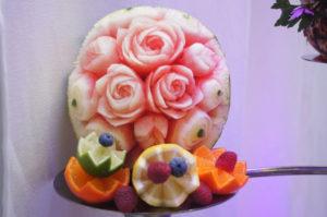 Ozdobny Carving owocowy