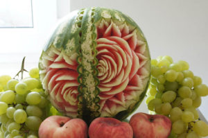 Fruit Carving w arbuzie