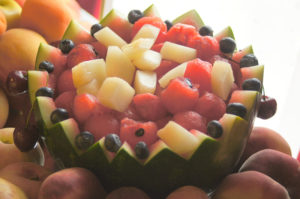 koszyk z arbuza