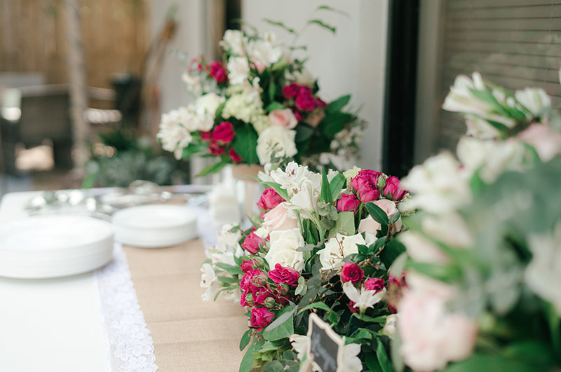 Kwiaty na kameralne wesele