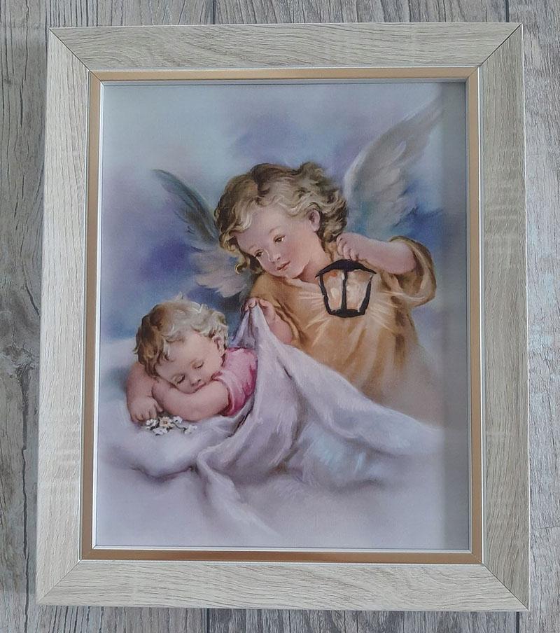 Obraz na chrzciny dziecka