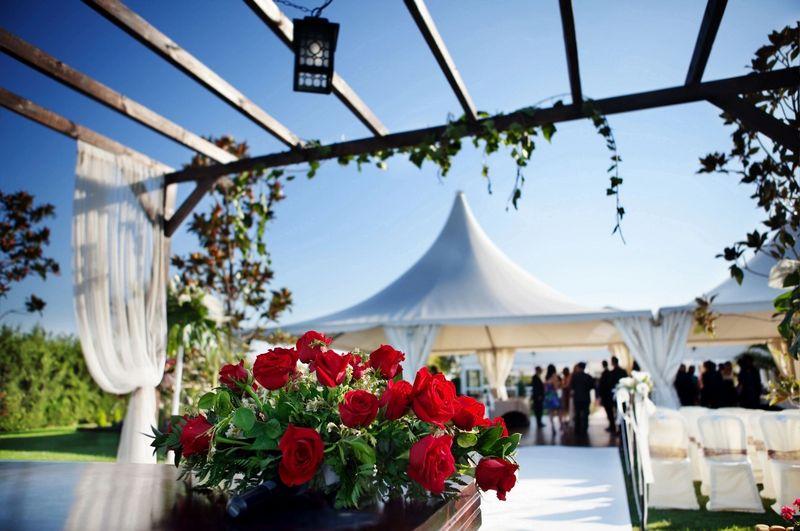 Ślub pod namiotem