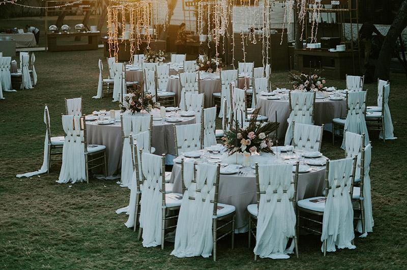 Kameralne wesele w ogrodzie