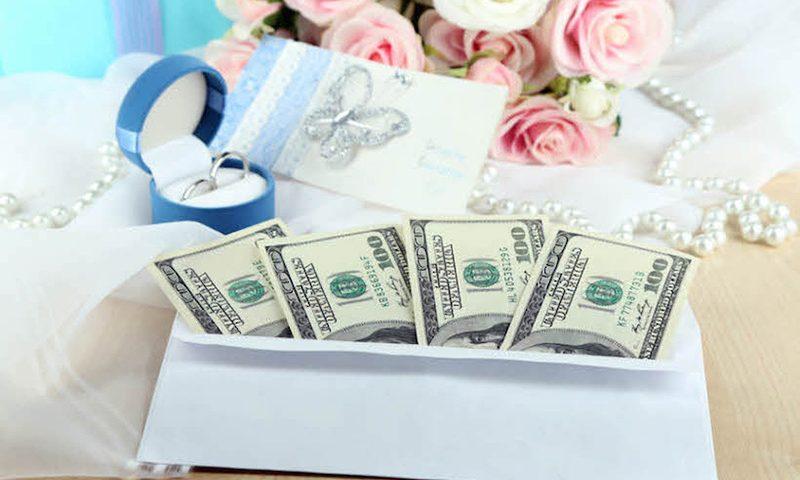 pieniądze na prezent weselny