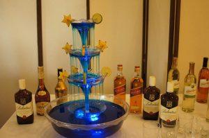 Fontanna alkoholowa i trunki