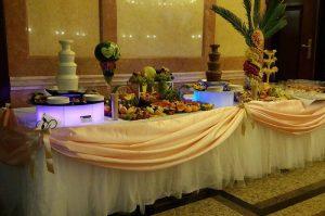 Fontanna alkoholowa na weselu